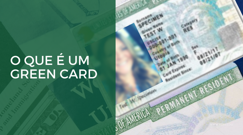 O que é um Green card?
